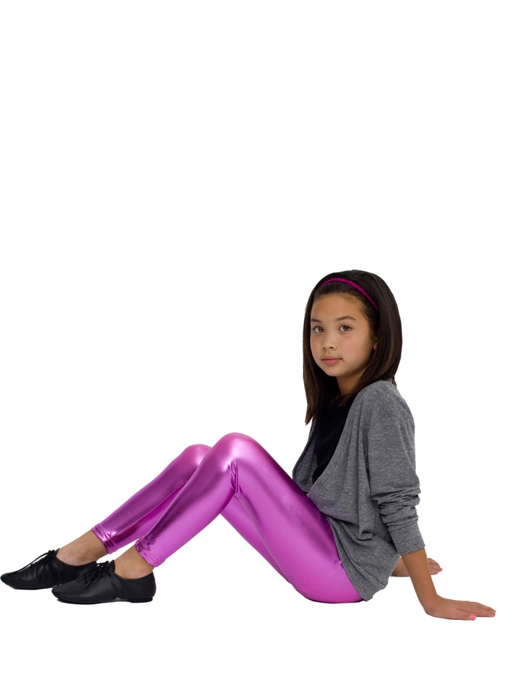 Girl Sitting On The Floor  People  Shiny Leggings, Fashion, Dance Wear-6311