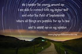 Affirmation to connect to your higher self.