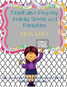 What are some ways to teach fifth graders about the distributive property?