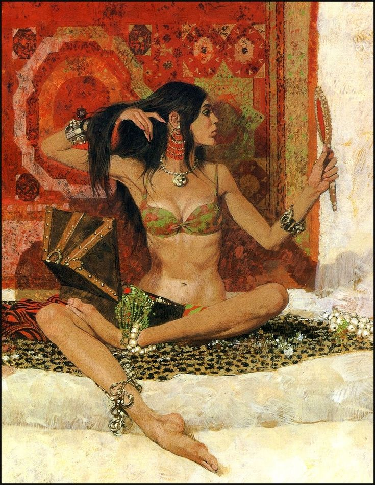 Robert McGinnis Women Portraits Artworks                              …