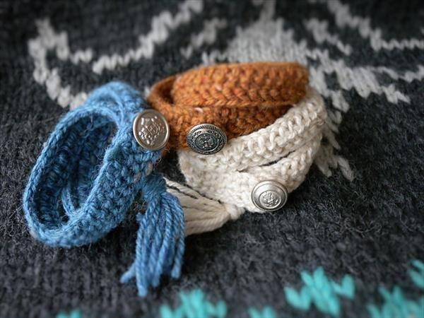 10 Easy and Free #Crochet Bracelet #Patterns | 101 Crochet