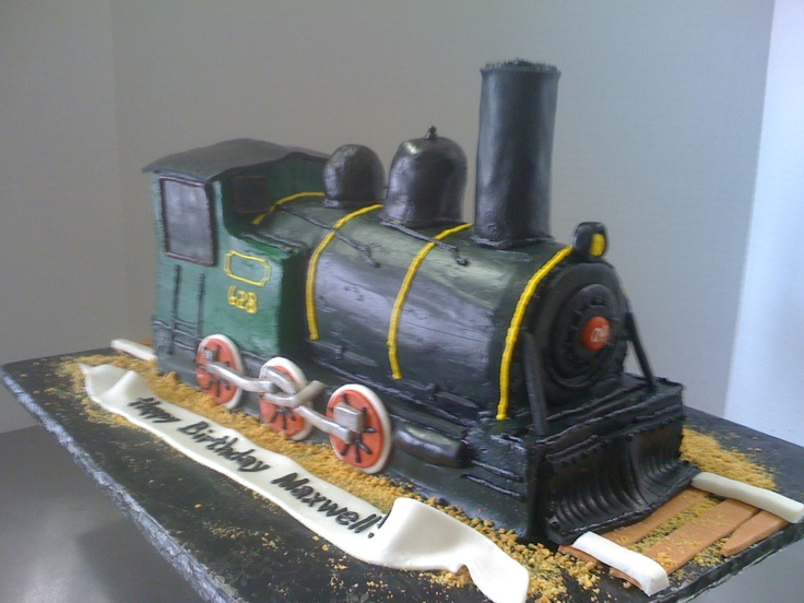 Train Engine Cake Images : Custom 3D Locomotive Cake. Kick Ass Kakes, Phoenix ...