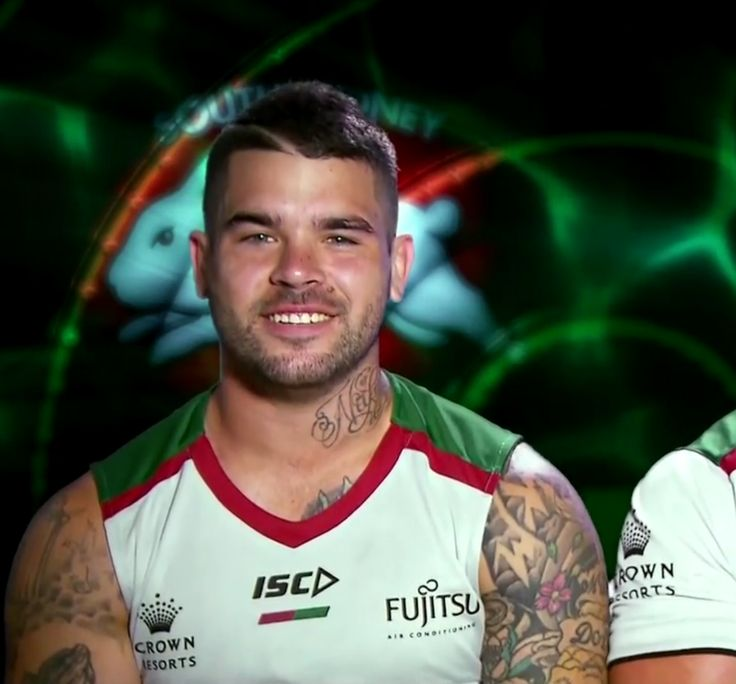 Footy Players: Adam Reynolds and Damien Cook of the Rabbitohs