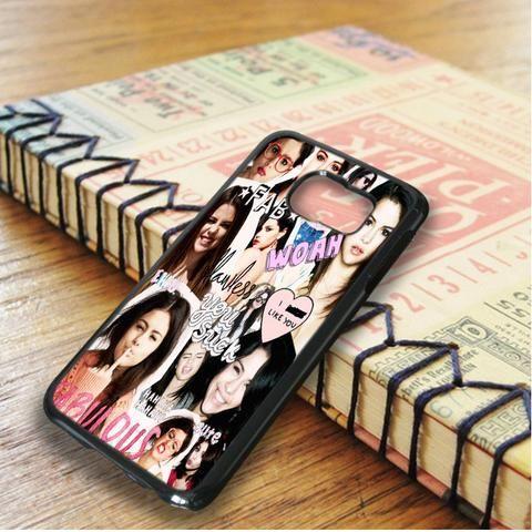 Selena Gomez Collage Idol Star Samsung Galaxy S6 Edge Case