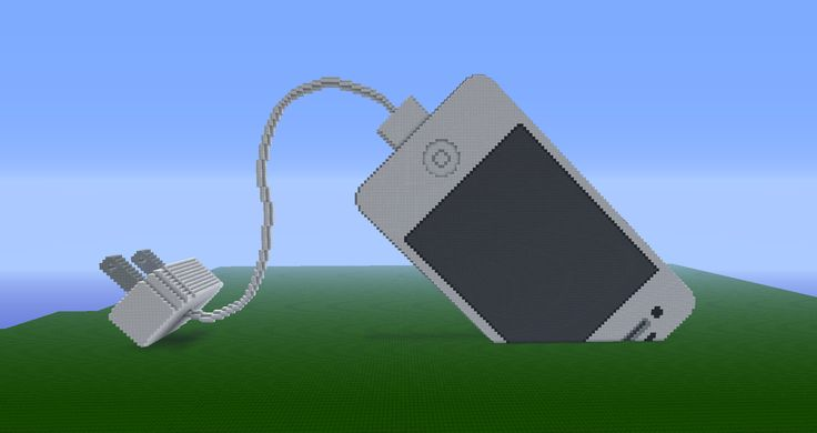 Any where i could plug in my phone Minecraft Iphone 17800 wool