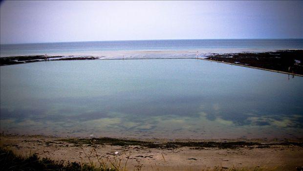 Walpole Bay Victorian tidal pool, lovely for swimming - John Shephard