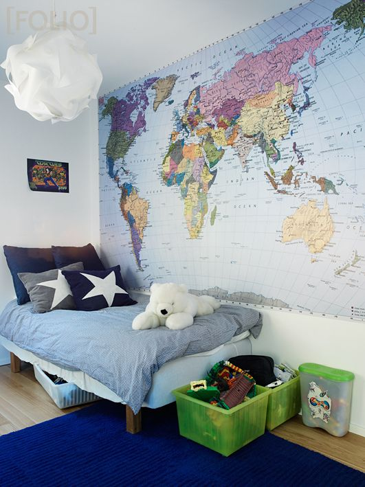 If I ever have a kid they are having a gigantic map in their room and are going to know about the world.