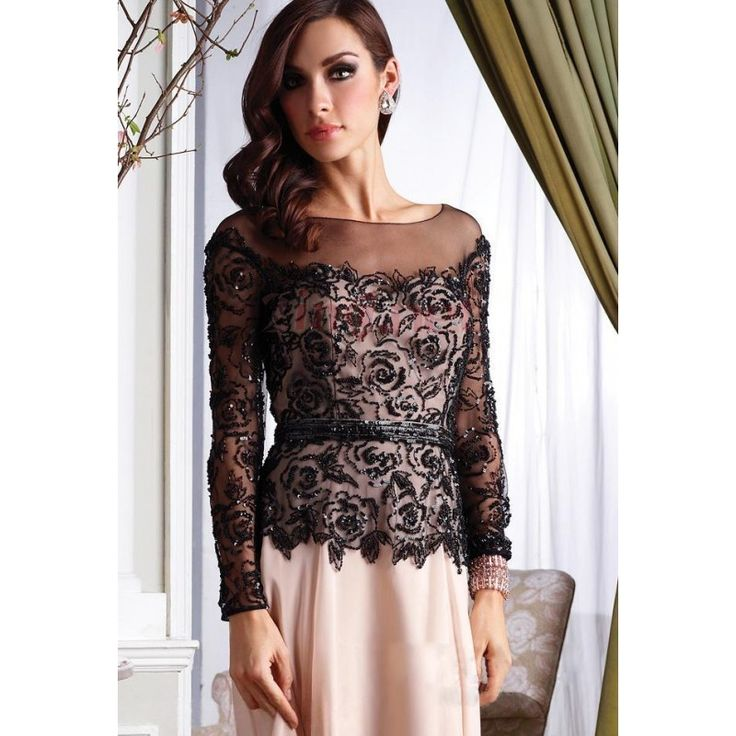 Lace Tops With Sleeves 1