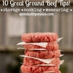 Ground Beef Tips