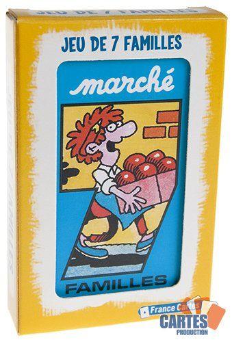 """Jeu de 42 cartes : 7 Familles """"Marché"""""""