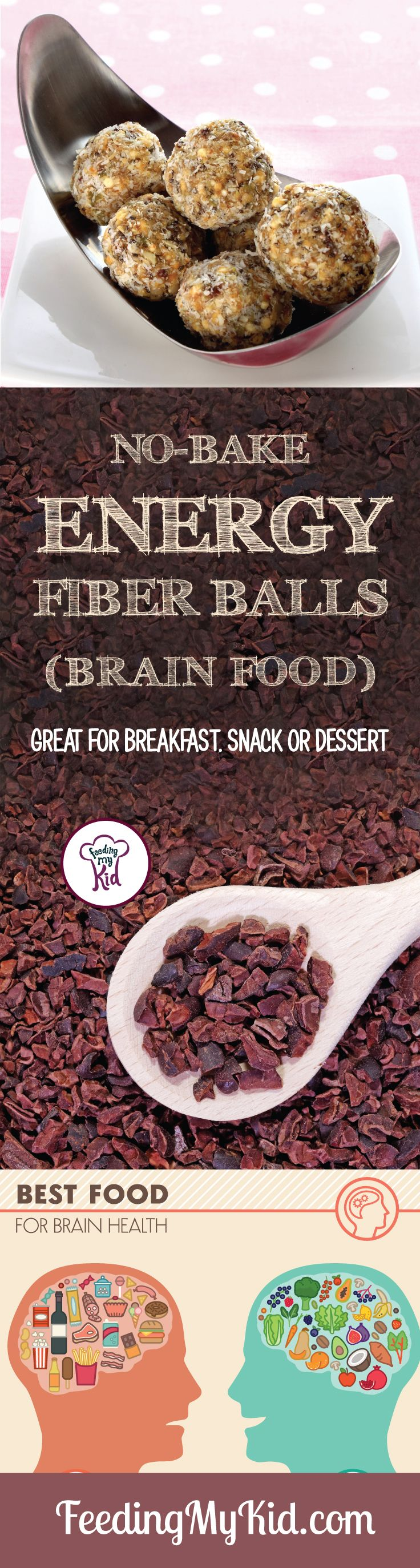 These high-fiber energy balls will send kids off to school with bellies full of…