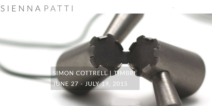 Sienna patti - Simon Cottrell TIMBRE - reception June 27 4-6pm