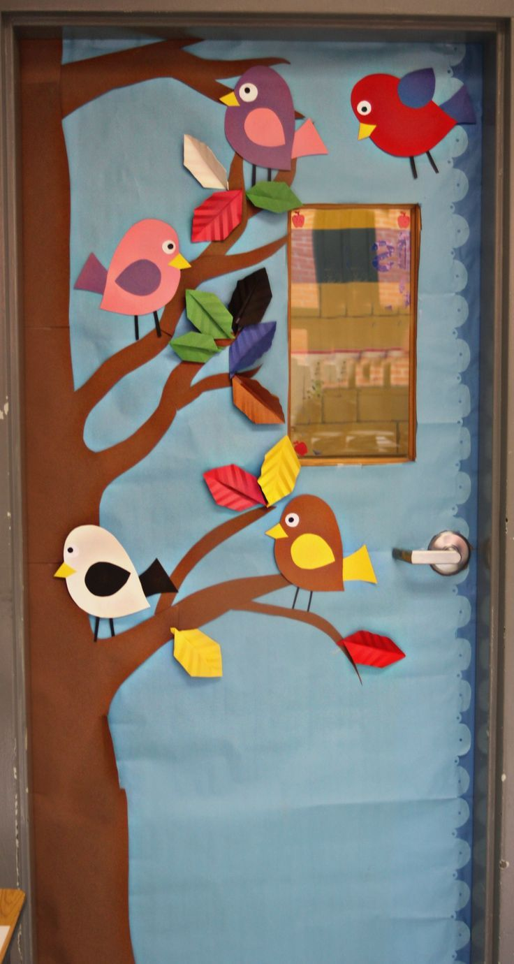 Classroom Door Decoration For Kindergarten ~ Between winter and spring classroom decor yahoo search