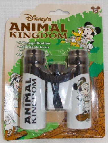 Disney-Animal-Kingdom-Safari-Mickey-Binoculars-With-Strap-New-Plastic
