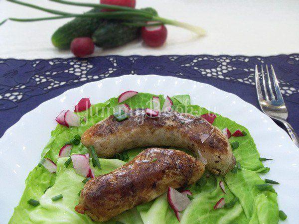Настоящая домашняя колбаса из говядины