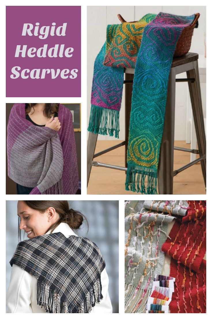 103 best scarf weaving images on pinterest weaving loom and here are the scarves from handwovens newest ebook of rigid heddle weaving patterns its scarf fandeluxe Ebook collections