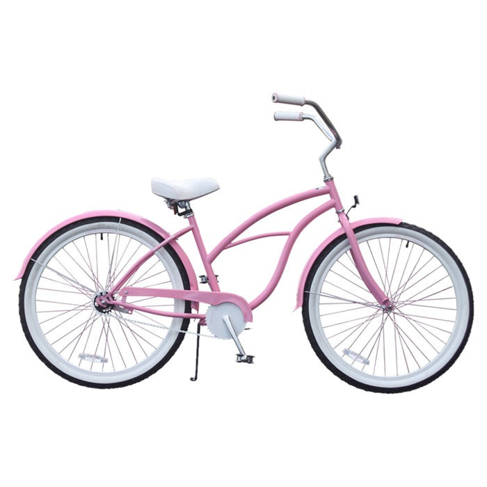 Pinky McGee Womens 26 Beach Cruiser Bicycle// love it!