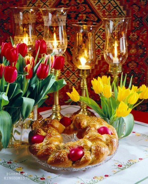 Traditional tsoureki