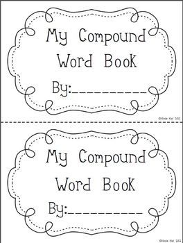 Compound Word Flip Book II