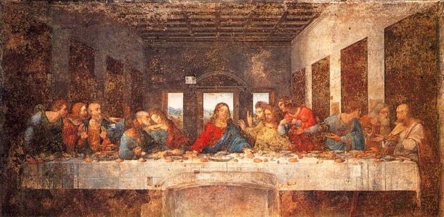 Leonardo da Vinci, The Last Supper, Santa Maria delle Grazie, Milan, Italy, c 1495-98  (http://www.artbabble.org/video/smarthistory/leonardo-da-vinci-last-supper-1495-98#)