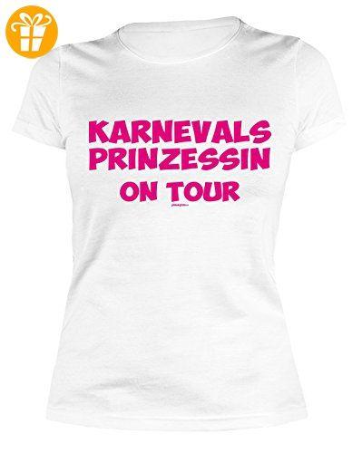 Party/Faschings/Spaß/Fun Shirt/Damen Rubrik Lustige Sprüche:  Karnevalsprinzessin