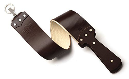 Bison English Bridle Straight Razor Strop Brown ** Check out the image by visiting the link.
