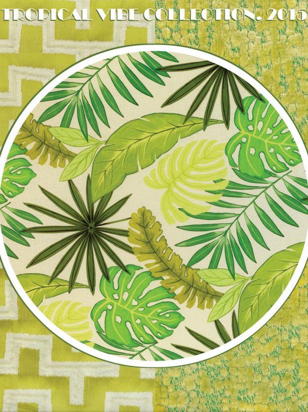 Aldeco vous présente 'Tropical Vibe', sa nouvelle collection pour 2015. Tropical Vibe est une explosion de couleurs. Ses dessins ont une forte connexion avec la nature et le milieu tropical. Motifs: la mer, bonnes vibes, vert, paradis, faunes, bien-être, joie.