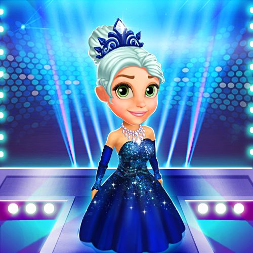 Shine bright like a diamond! Every princess deserves a beautiful evening gown like this one! #royalstorygame