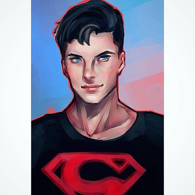 Superboy 😌 #drawing #dc #comics #superboy