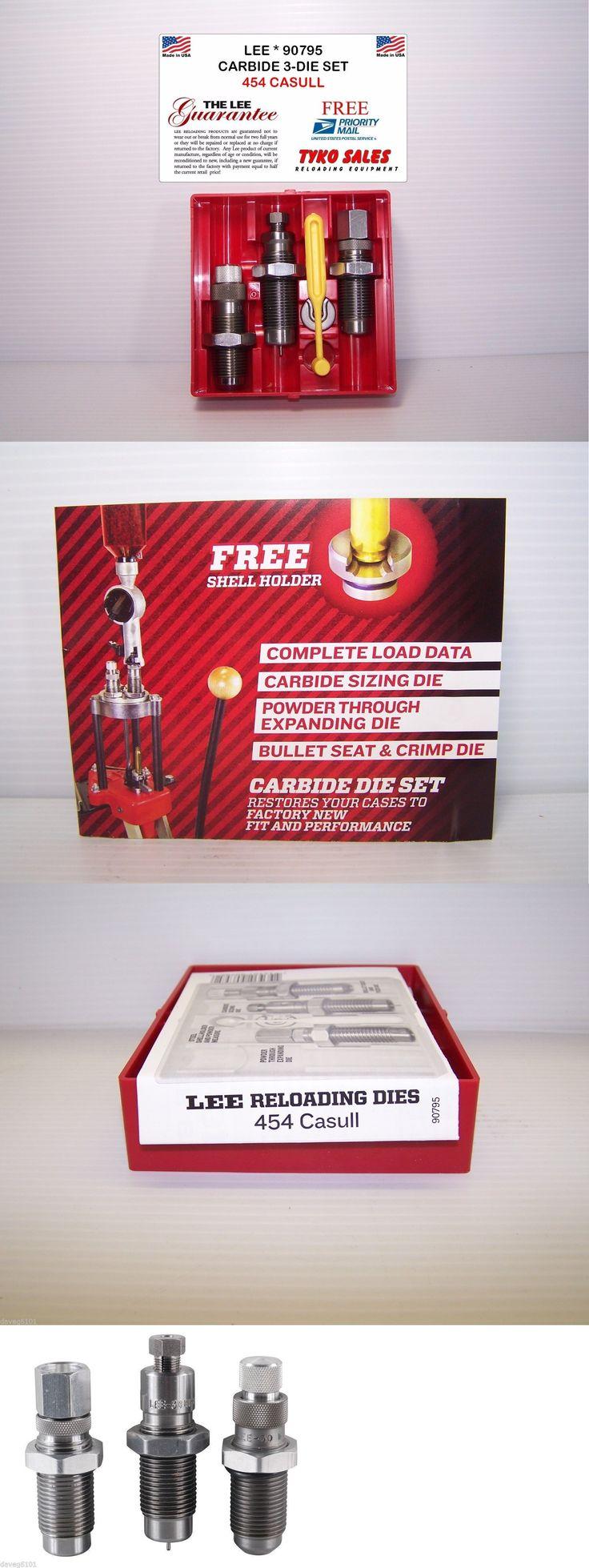 Dies 31825: 90795 * Lee Carbide 3-Die Set * 454 Casull -> BUY IT NOW ONLY: $32.95 on eBay!