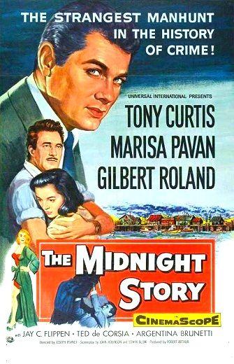Cartel película El rastro del asesino (1957)