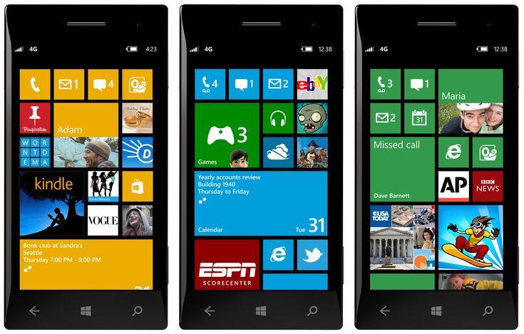 Generic Windows Phones x 3.