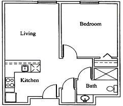 Image result for plans for a one bedroom cottage