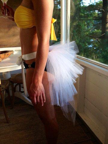 Bachelorette Bikini Bustle by TutuSister on Etsy