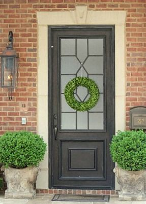 Painted Front Door Ideas best 20+ brick house colors ideas on pinterest | painted brick