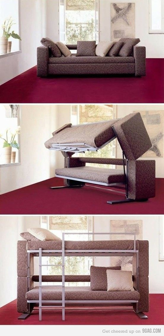 Seriously such a great idea!  Except I can't imagine how heavy this must be! Wouldn't want to be the one moving this piece of furniture....