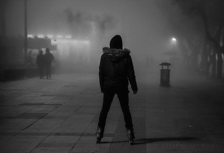 fog in istanbul..,