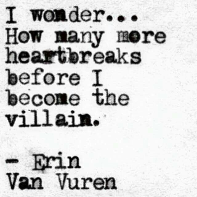 Too late Erin Van Vuren... too late.