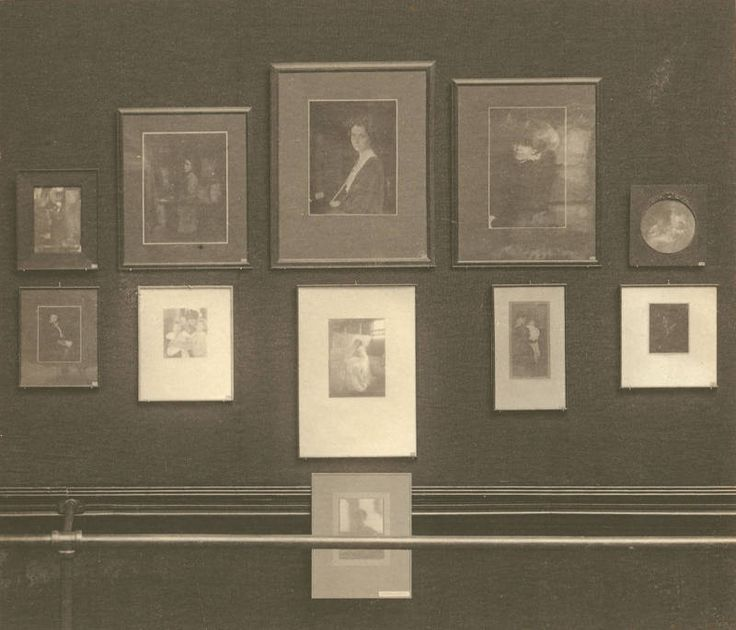 William H. Rau (1855-1920) Kasebier Exhibition at the Second Philadelphia Photographic Salon, 1899 photogravure 5.5 in x 6.5 in. The Second Philadelphia Photographic Salon was held from October 22 to November 19, 1899 at the galleries of the Pennsylvania Academy of Fine Arts and sponsored by the Photographic Society of Philadelphia.