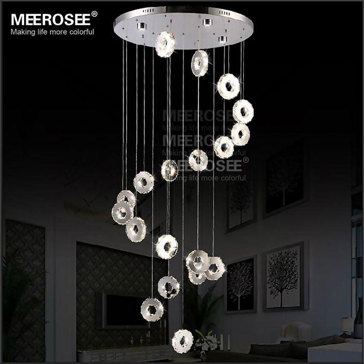 LED Small Rings Pendant Lighting Restaurant Dinning Light Fixtures Staircase Hanging Lamp Modern Room decorative Lights