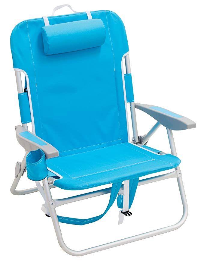 Amazon Com Rio Beach Big Boy Backpack Chair Turquoise Sports