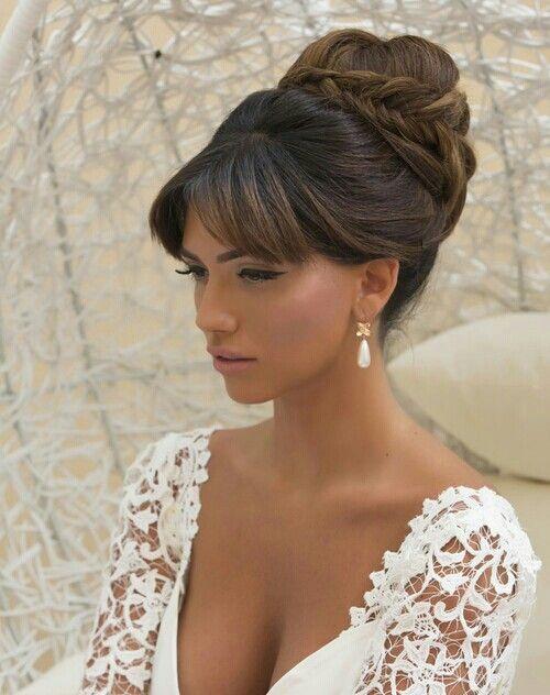 Beautiful Bride Hair Make 78