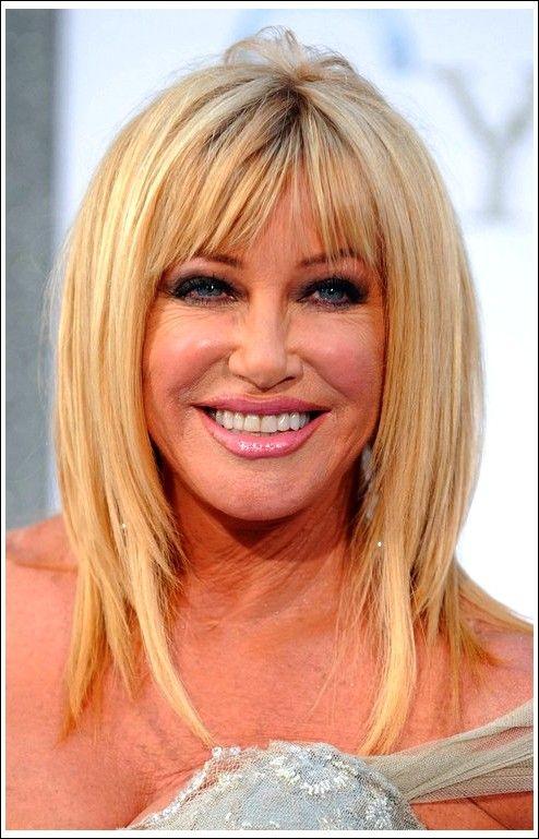 Blonde Frisur für Frauen über 27 – Suzanne Somers Frisuren ...