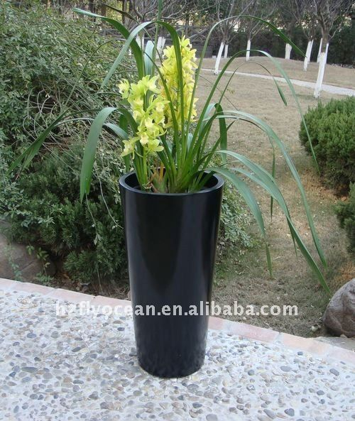 Fo-208 коническая легкие стекловолокна цветочные вазы-изображение-Цветочные горшки и кашпо-ID товара::301151618-russian.alibaba.com