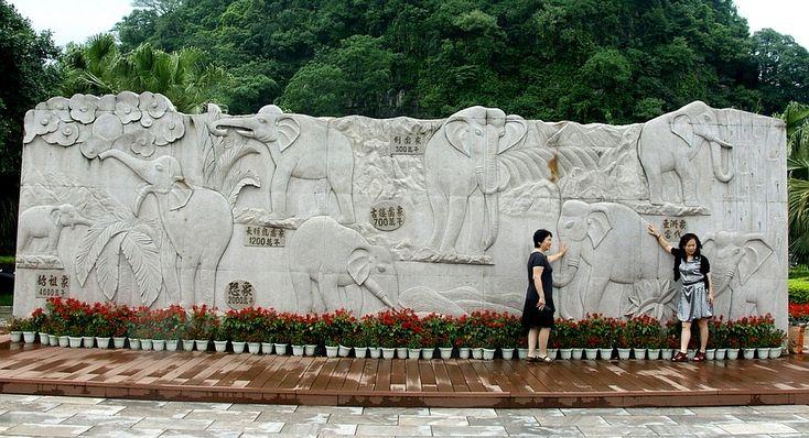 CHINA - Guilin - Colina da Tromba de Elefante