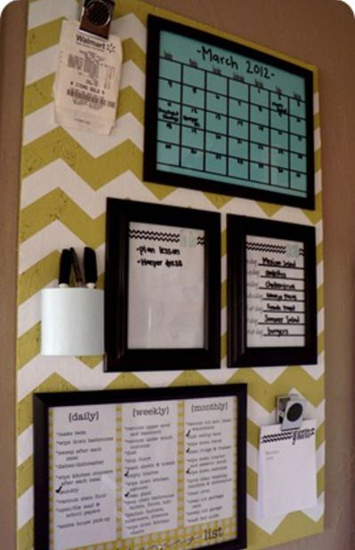Organization Board Tutorial! - Girl Loves Glam