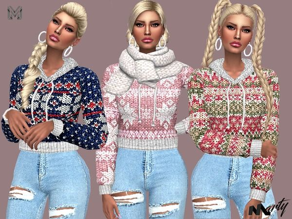 TSR - The Sims Resource - Over 948,000 FREE downloads for The Sims 3, 2 and 1 It's almost winter! Make sure your sims are warm (even though there is no winter in the sims 4 universe)