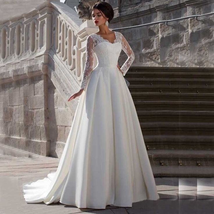 Satin Wedding Dresses: Best 25+ Satin Wedding Dresses Ideas On Pinterest