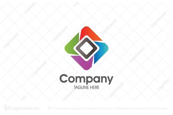 Logo for sale: Square Media Logo