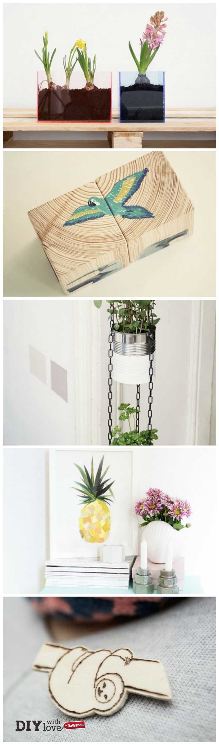 Un'oasi verde in casa: trend DIY Urban Jungle! http://it.dawanda.com/tutorial-fai-da-te/trend-urban-jungle/
